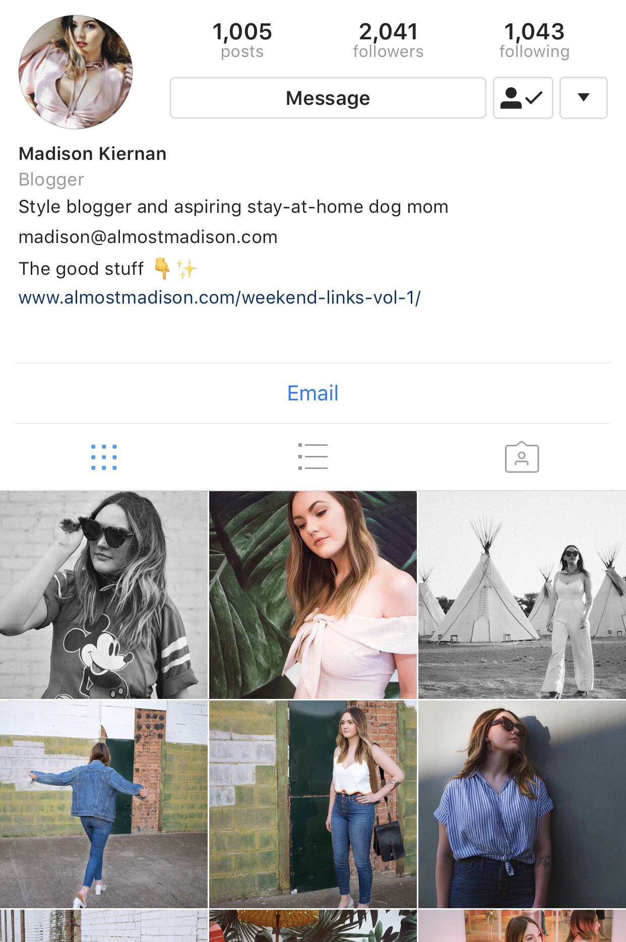 5 Fun Instagram Profiles to Follow / 01 – Edits by Emily
