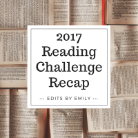 Top 5 / Bottom 5: 2017 Reading Challenge