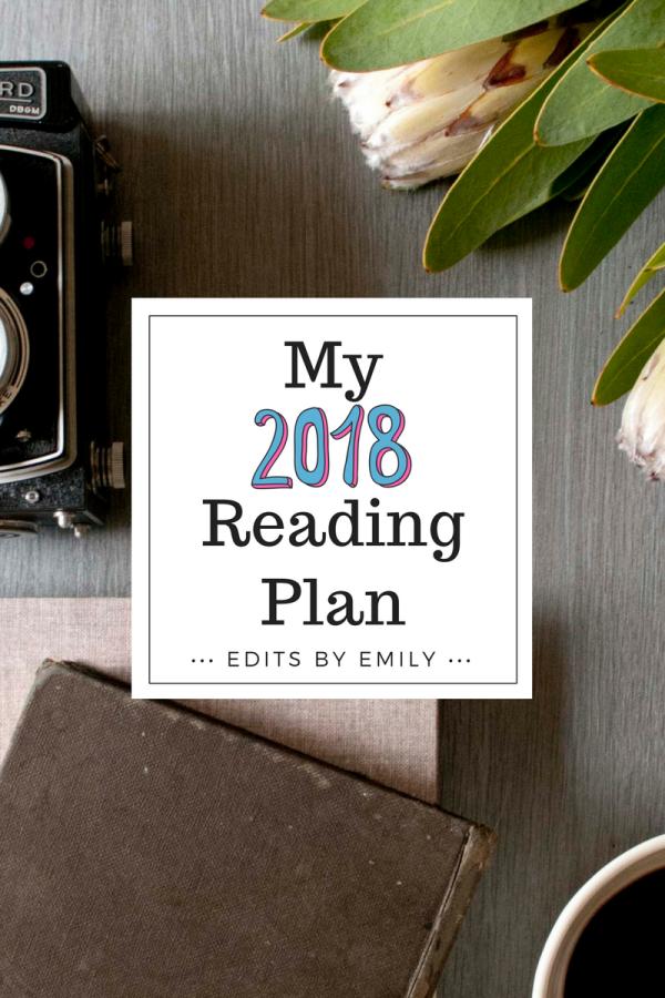 2018 Reading Plan