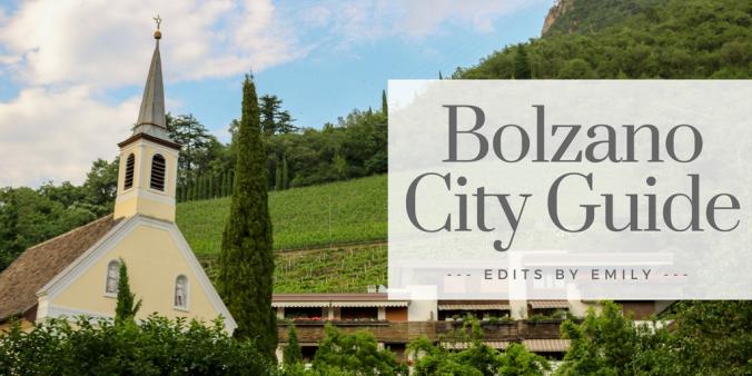 Bolzano City Guide